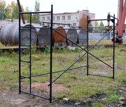 Приставные металлические строительные леса